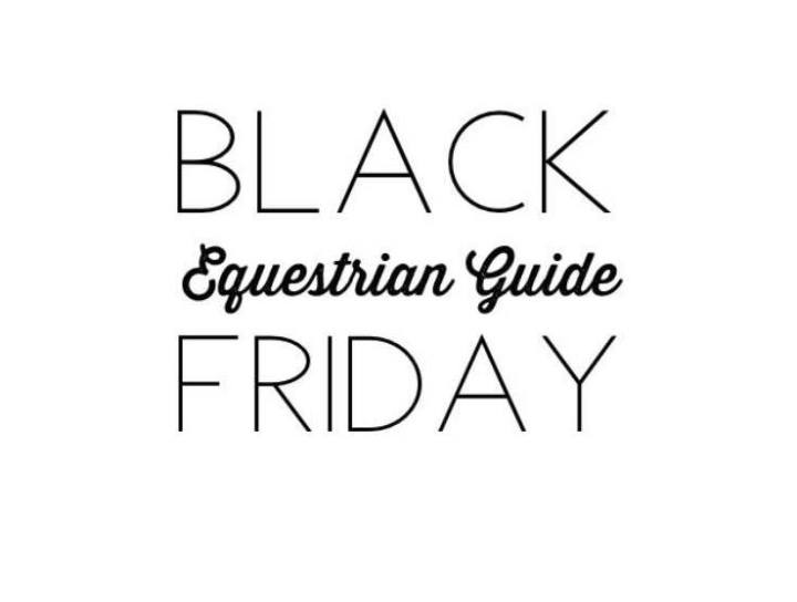 An equestrian's guide to black friday